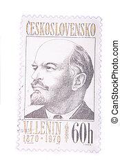 Lenin postage stamp