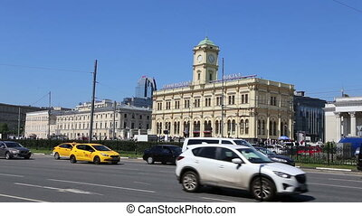 Leningradsky railway station,Moscow - Leningradsky railway...