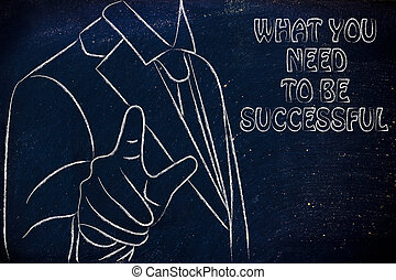 lenni, mi, szükség, sikeres, ön
