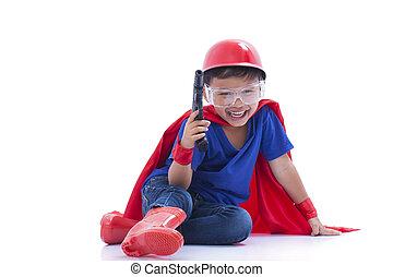 lenni, superhero, igénylés, gyermek