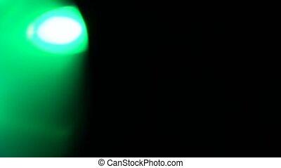 Lens Distortions 4K Light Horizon, Bright Lens Flare flashes...