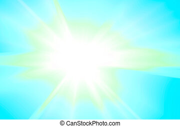 Lens flare abstract background
