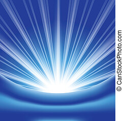 Lens flare, abstract background - Illustration lens flare, ...