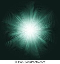 Lens flare burst background. EPS 8 vector file included