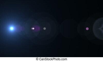 Lens Flare Horizontal 011