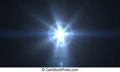 Lens Flare Rotation Motion Background glow bright light video footage for footage ovelay design
