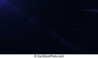 Lens Flares blue tone