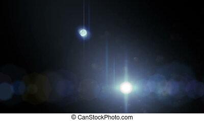 Lens Flares on Black 3