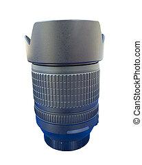 lens for dslr camera isolated on white
