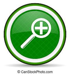 lens green icon