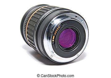 lens on white background