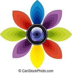 Lens Photo Icon