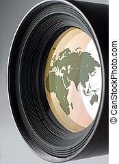 lens - medium photo camera lens close up shoot