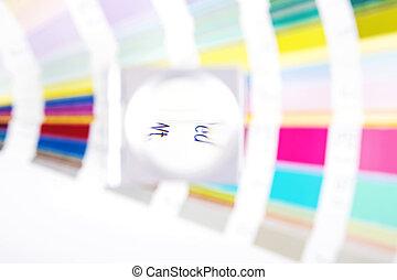 lens., prepress, verwischen, begriff