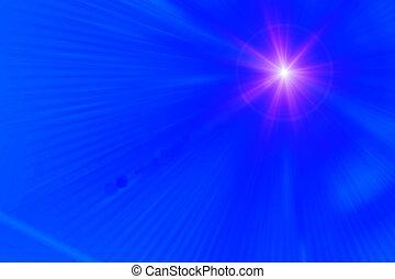 lens signalljus, abstrakt, bakgrund