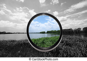 lense, filtri