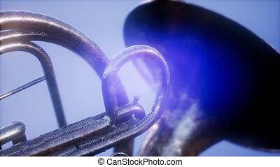 lense, flairs, dof, französisches horn