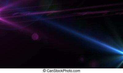 lensflare, étoile, 4k