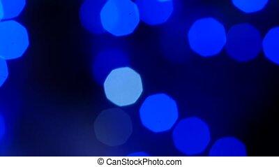 lent, coloré, résumé, light., mouvement brouillé, bokeh, fond