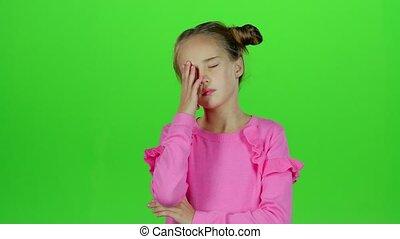 lent, headaches., souffrance, screen., mouvement, sévère,...