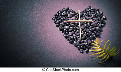 Lent Season, Holy Week and Good Friday concepts - image of ...