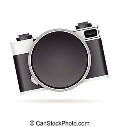 lente, câmera, copyspace
