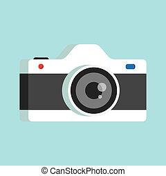 lente, câmera foto