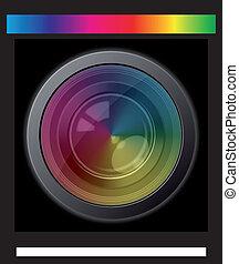 lente câmera