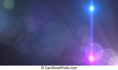 lente, estrelas