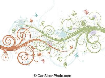 lente, floral