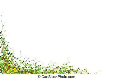 lente, florar, achtergrond