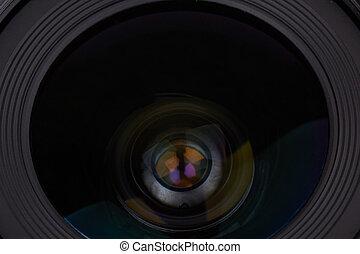 lente, fotografico