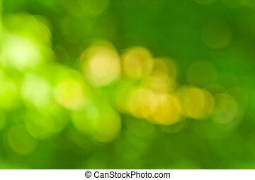 lente, kleuren, natuurlijke , achtergrond, vaag