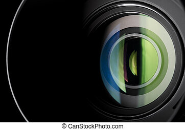 lente, macchina fotografica