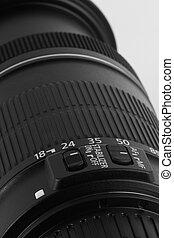 lente, macchina fotografica, closeup, digitale