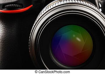 lente, otturatore, macchina fotografica