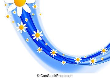 lentebloemen, ontwerp
