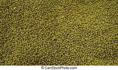 Lentil sold in supermarket stock footage video
