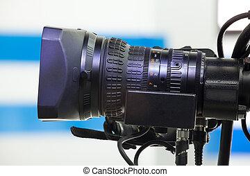 lentille, appareil photo, vidéo
