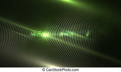 lentille, mouvement, résumé, fond, éclats (flares)