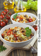 lentils, groentes