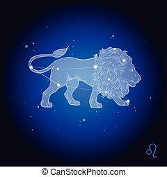 Leo Constellation, astrology sign