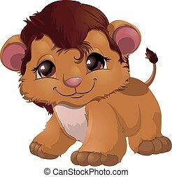 Leon cartoon vector