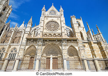 Leon Cathedral, Spain.