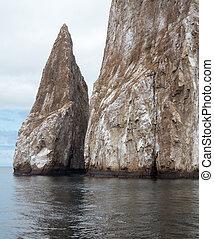 Leon Dormida or Sleeping Lion rock formation