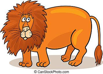 leone, africano