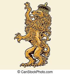 leone, araldico