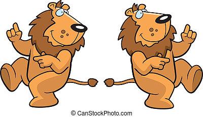 leone, ballo