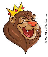 leone, corona
