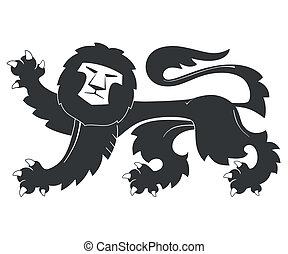 leone, nero